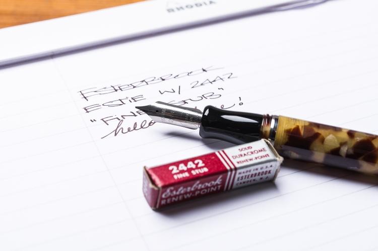 Esterbrook Estie Fountain Pen Reivew Vintage Nib-4