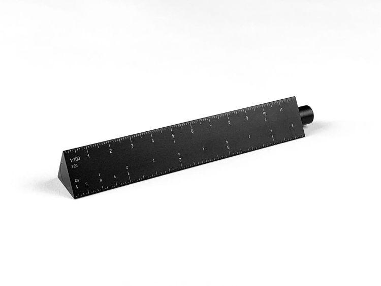 ESCALA Scale Ruler + Fountain Pen by Ensso Design Kickstarter Announcement