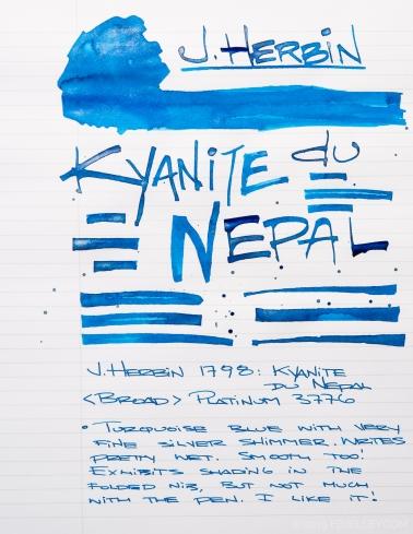 J Herbin Kyanite Du Nepal Ink Review-11